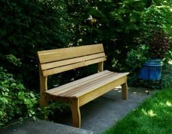 Делаем скамейку для дачи своими руками