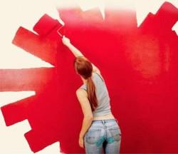 Правила окрашивания обоев под покраску