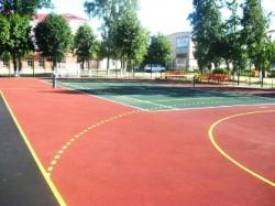Выбираем покрытие для спортивной площадки