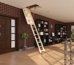 Преимущества складных чердачных лестниц