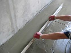 Как самостоятельно сделать бетонный пол