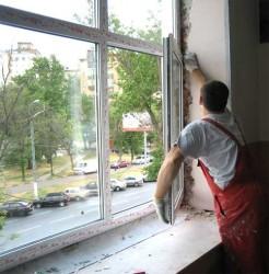 Чиним пластиковое окно