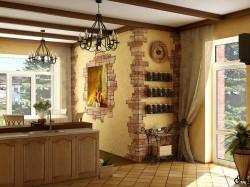 Варианты оформления интерьера кухни