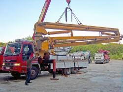 Перевозка строительного оборудования