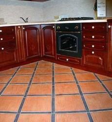 Выбираем плитку для пола на кухне
