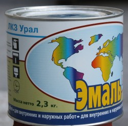 Применение и производство эмали ПФ-115