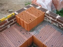 Керамический блок в строительстве жилья
