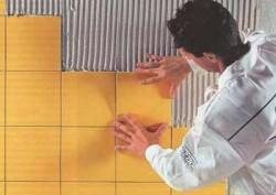 Как укладывается керамическая плитка