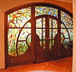 Декоративное стекло и витражи — современное оформление, дошедшее до нас из глубины веков