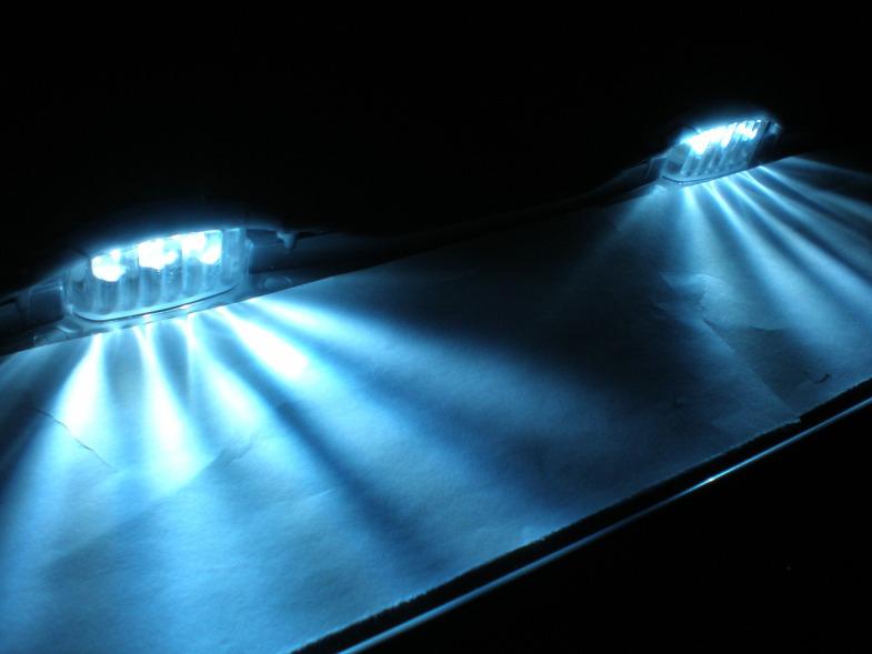 Светодиодная подсветка гос номера своими руками