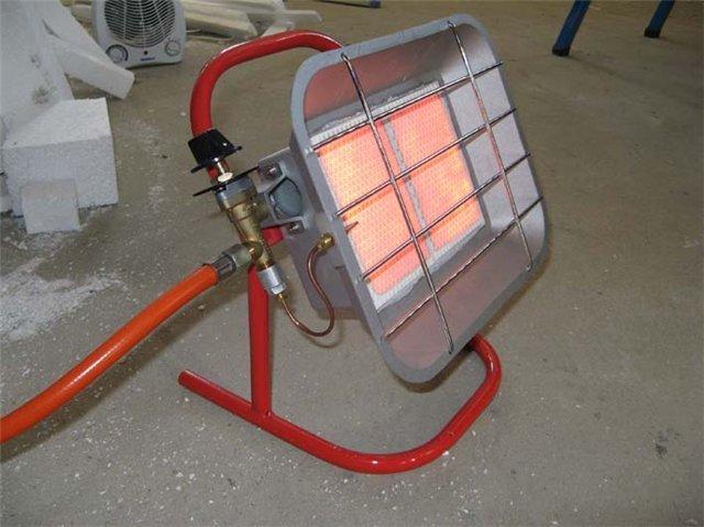 Воздушное отопление в гараже  видео