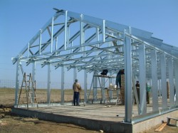 Использование каркасной технологии при возведении зданий промышленного назначения