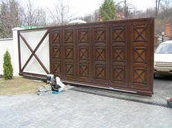 Порядок установки автоматических ворот