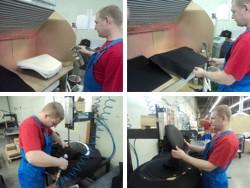 Как делается перетяжка мебели