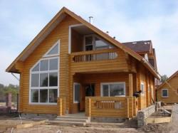 Строительство деревянных коттеджей «под ключ»