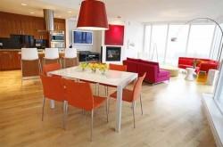 Обеденная зона кухни: выбираем мебель