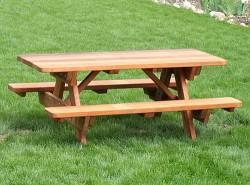 Как самостоятельно изготовить садовый стол