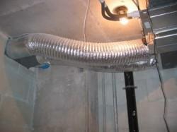 Как закрепить воздуховоды
