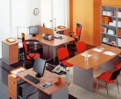 Правила расстановки офисной мебели