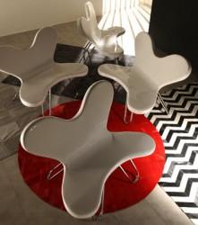 Нестандартная дизайнерская мебель в интерьере