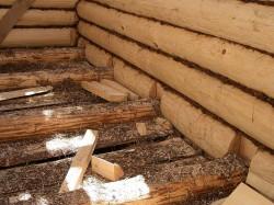 Как возвести баню из деревянного бруса