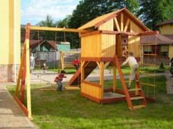 Детские площадки на вашем загородном участке
