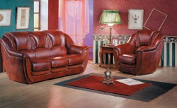 Преимущества мебели из натуральной кожи