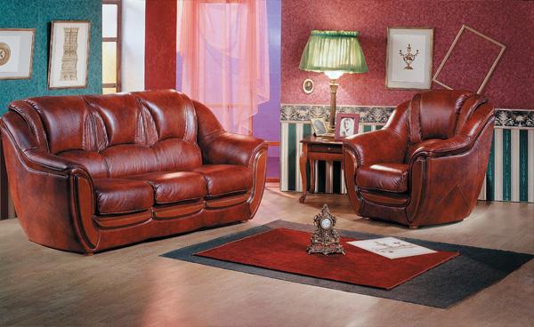 Преимущества мебели из натуральной кожи.