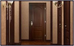 Популярные виды отделки входных дверей