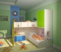Варианты интерьера детской комнаты