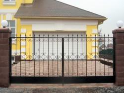 Как самостоятельно изготовить кованые ворота
