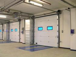 Автоматические ворота от Амико-Систем для промышленных помещений