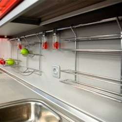 Как расположить мебель в небольшой кухне