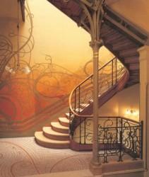 Линейные композиции, используемые мастерами ковки в московской архитектуре эпохи модерна