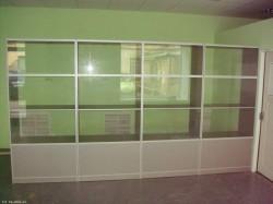 Преимущества стеклянных витрин