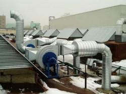 Монтаж приточной и вытяжной вентиляции