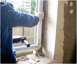 Как выполнить установку пластикового окна