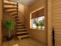 Особенности изготовления деревянных лестниц