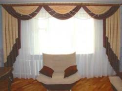 Тонкости выбора штор для гостиной