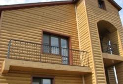 Блок-хаус – это новый способ отделки здания