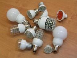 Использование светодиодных ламп в быту