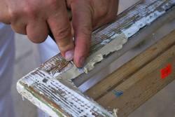 Как заменить стекло в деревянной раме