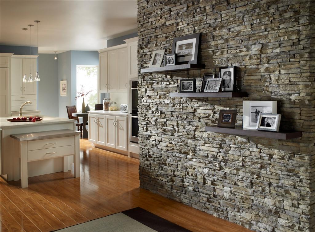 Дизайн камень в интерьере