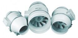 Основные характеристики канального вентилятора