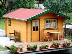 Как выстроить небольшой садовый домик