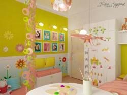 Как обустроить детскую комнату по типу итальянской?