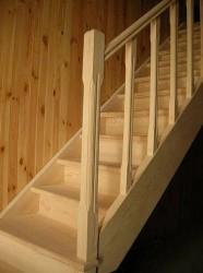 Правила строительства деревянной лестницы