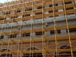Основные характеристики приставных строительных лесов
