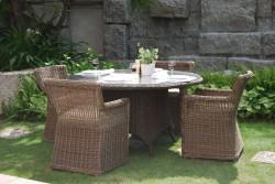Искусственный ротанг для садовой мебели