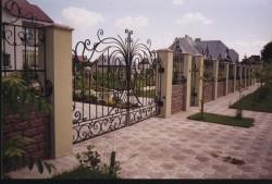 Как правильно выбрать ворота для ограды